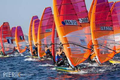 La Med Cup accueille les windsurfeurs à Marseille