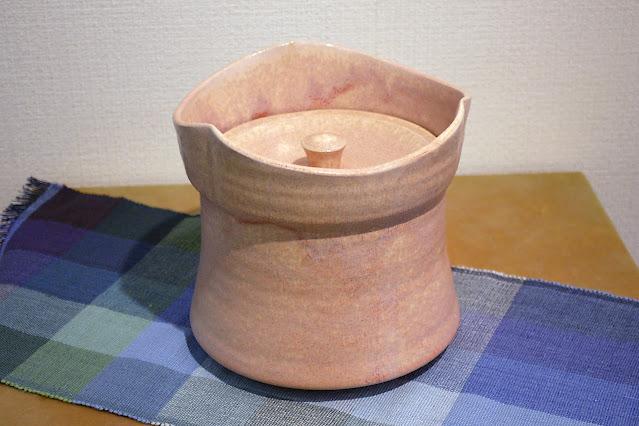 結晶釉 水指(税込価格 ¥165,000/木箱付き) サイズ:口径18.0cm×高さ17.0cm