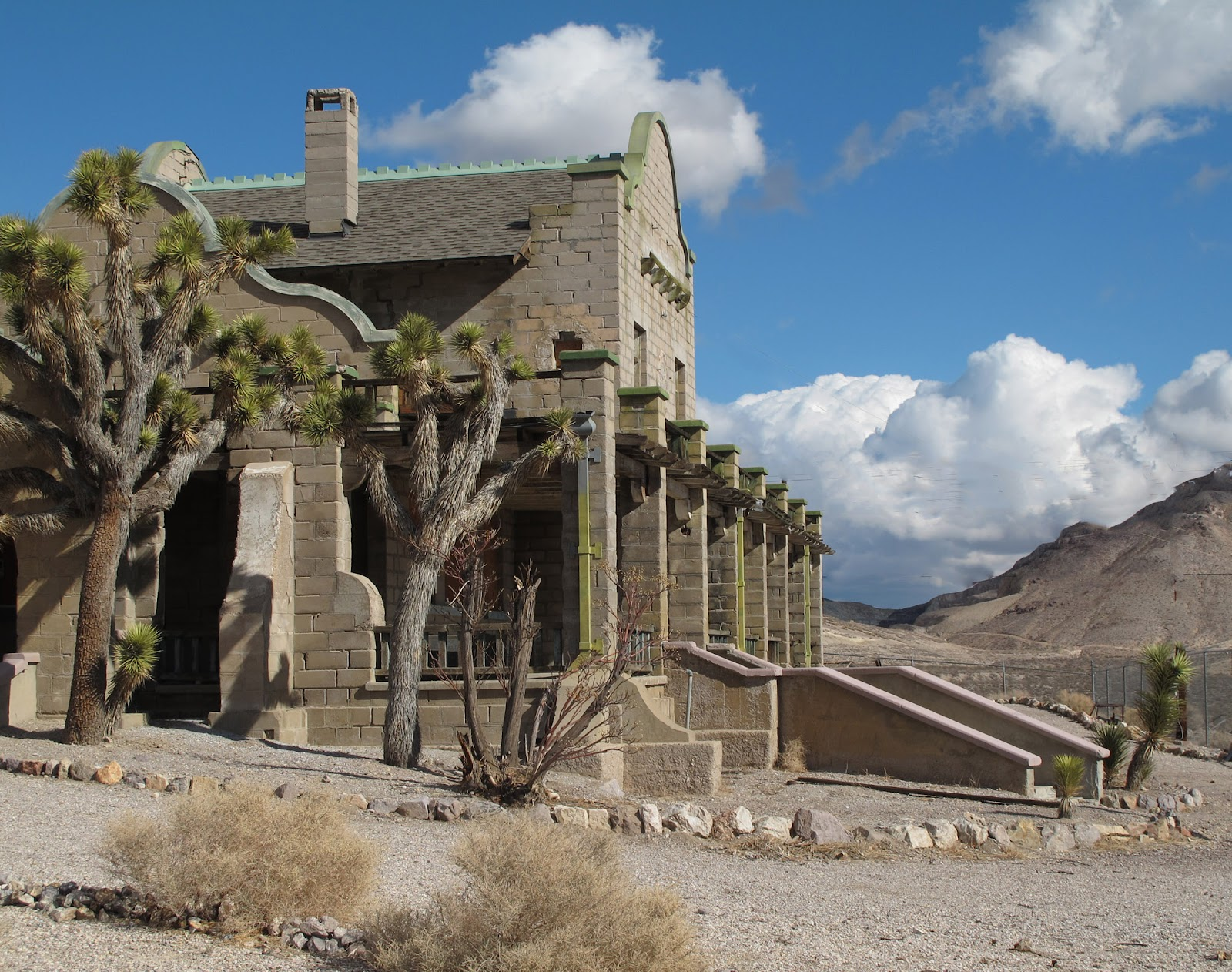The Ghost Town of Rhyolite | The Independent Tourist |Rhyolite Ghost Town