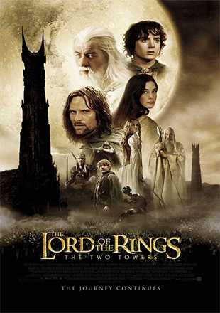 The Lord of the Rings: The Two Towers 2002 BRRip 720p Dual Audio In Hindi English