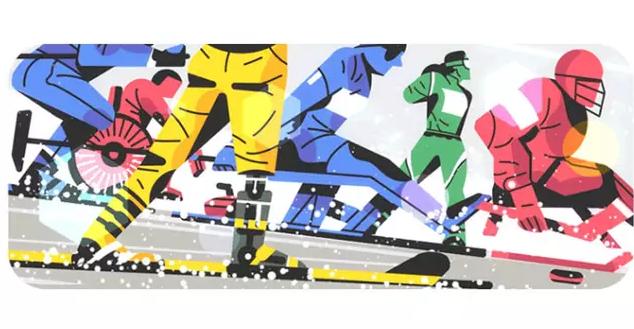 Google Tampilkan Doodle Khusus Paralympics 2018