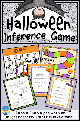 Build skills from vocabulary and word associations through riddles and inferences this Halloween!
