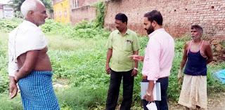 #JaunpurLive : नवागत अधिशासी अधिकारी ने नगर का किया निरीक्षण