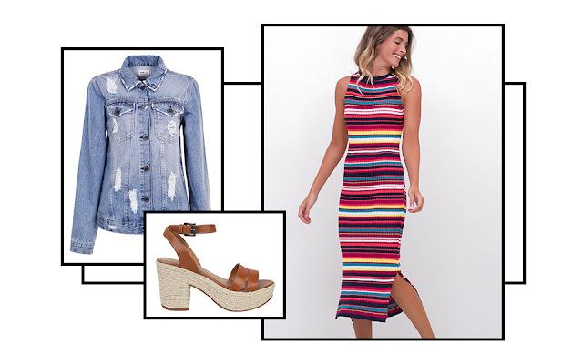 Aprenda a usar 4 tipos de vestido tubinho