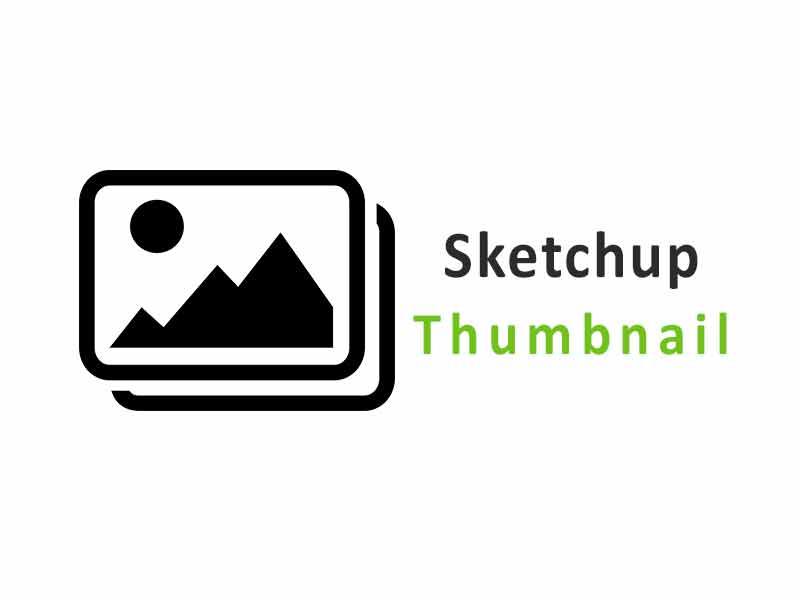 Cara Mengatasi Thumbnail Sketchup Tidak Muncul