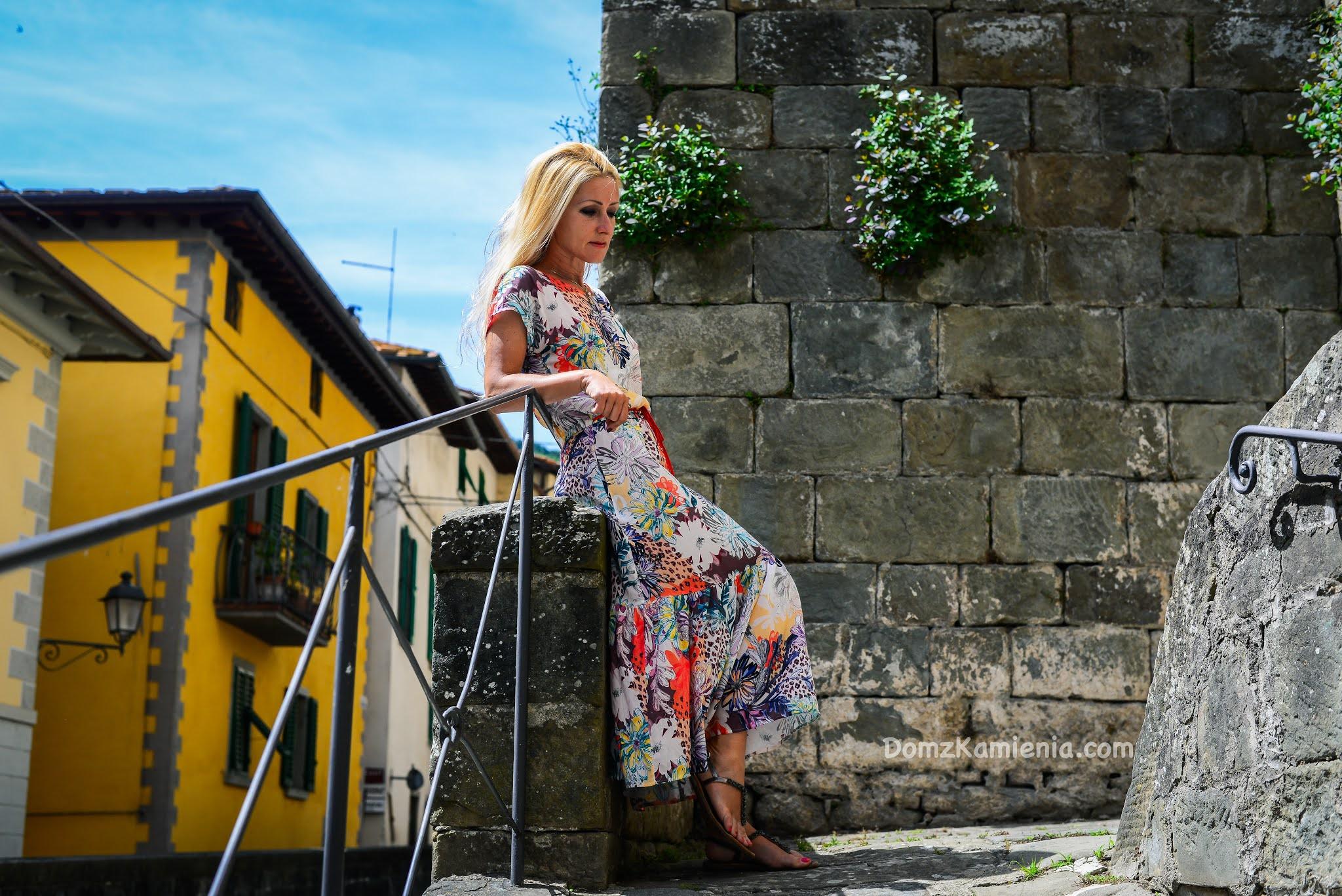 Loro Ciuffenna Dom z Kamienia, blog o życiu w Toskanii