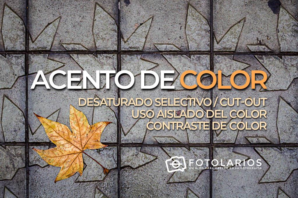 Acento de color