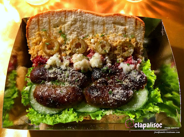 D Famous Imus Longganisa Sandwich