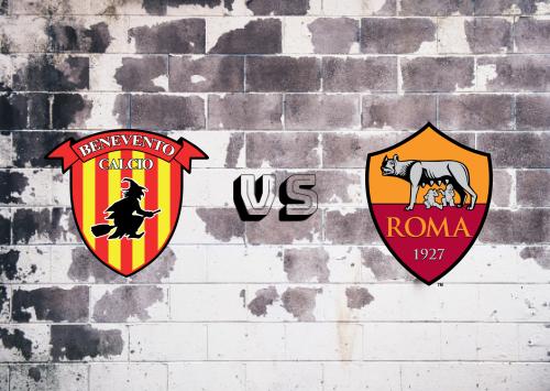 Benevento vs Roma  Resumen