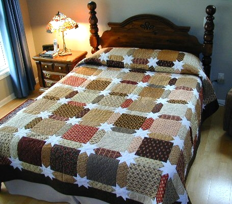Lori's Morning Star Quilt free Tutorial