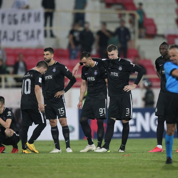 Heartbreak for former Olympic Eagles striker after losing Serbian Cup final