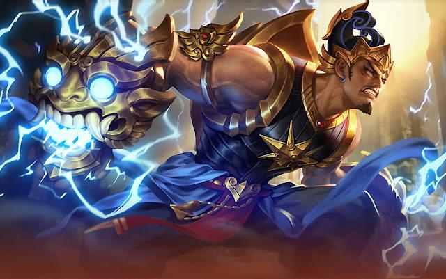 Gatotkaca Iron Steel Heroes Tank of Skins Mobile Legends Wallpaper HD for PC