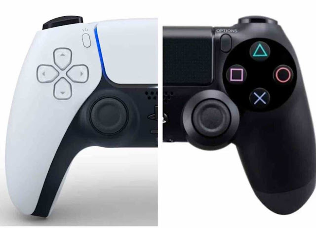 What is the difference between PS5 and PS4 controllers?