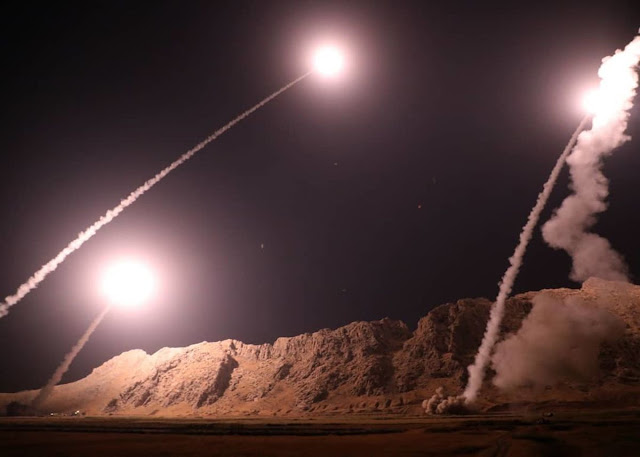 IRAN RETALIATES: More Than A Dozen Missiles Launched At U.S. Bases