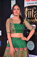 Nandita Swetha in a tight Green Choli Ghagra at IIFA Utsavam Awards March 2017 ~ 028.JPG