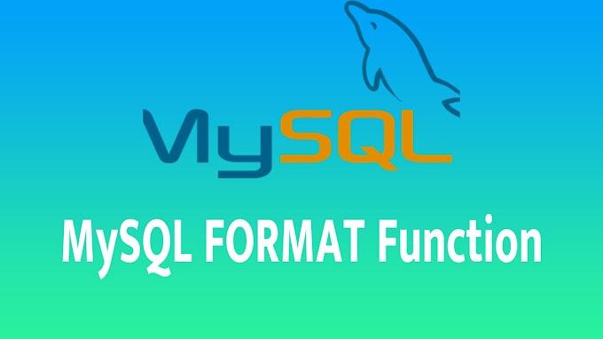 MySQL FORMAT Function