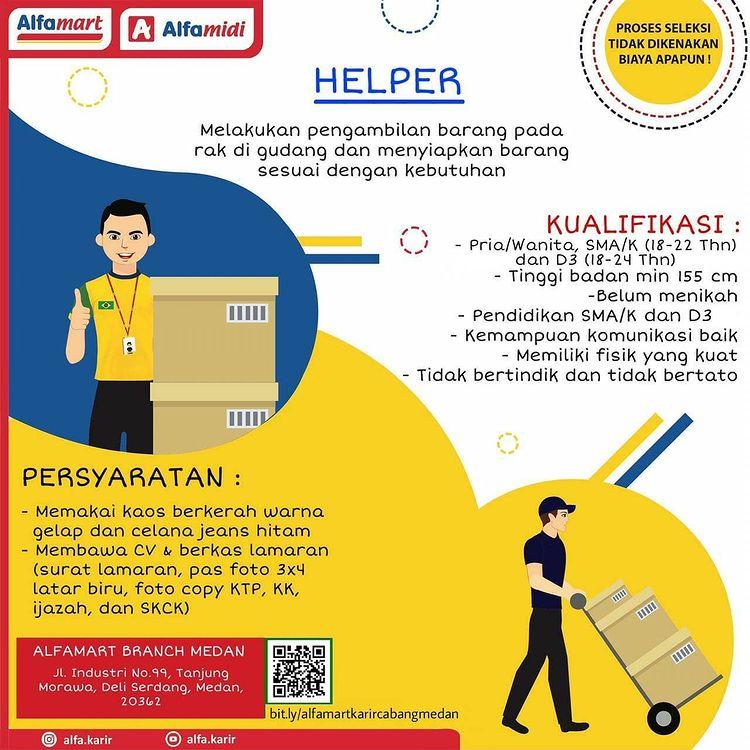 Lowongan Kerja Medan Juni 2021 Sma Smk D3 Di Pt Sumber Alfaria Trijaya Tbk