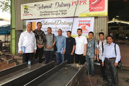 DPRD Wajo Kunjungan Kerja Untuk Referensi Produk Besi Baja Pembangunan Jembatan