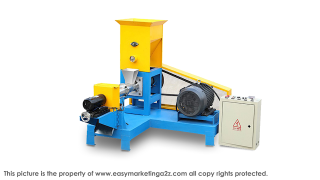 Fish feed chicken dogs cats shrimp feed production machine