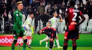 كريستاينو رونالدو يقود يوفنتوس للفوز على جنوى بهدفين لهدف في الجولة العاشره من الدوري الايطالي