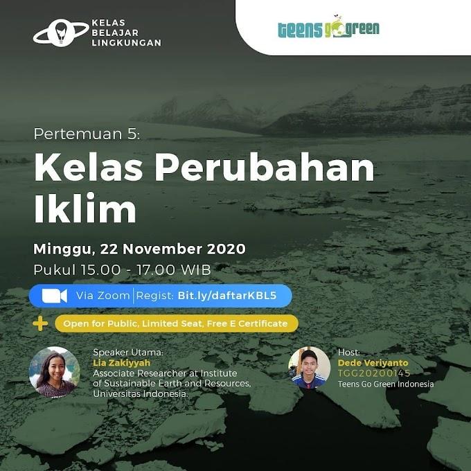 Mengenal dan Memahami Perubahan Iklim di Indonesia