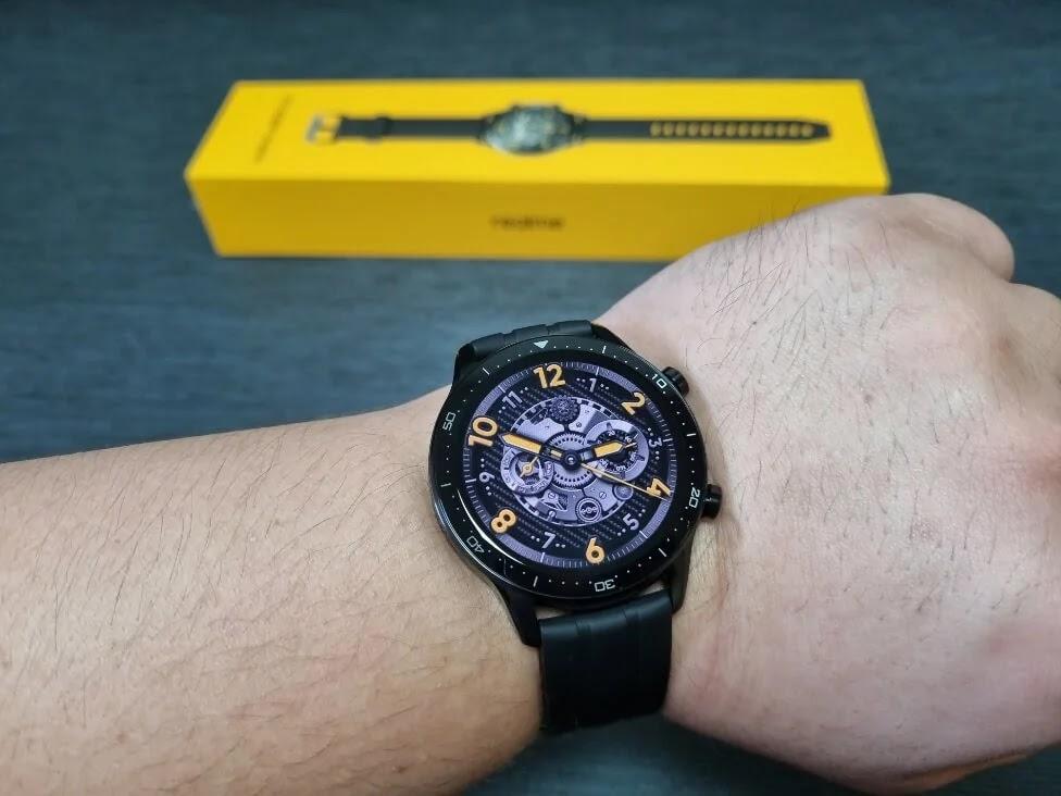 realme Watch S Pro Default Watch Face