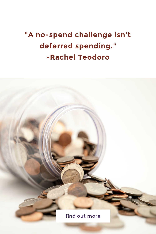 no spend challenge quote