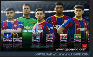 PES 2021 PPSSPP Free Download for Android