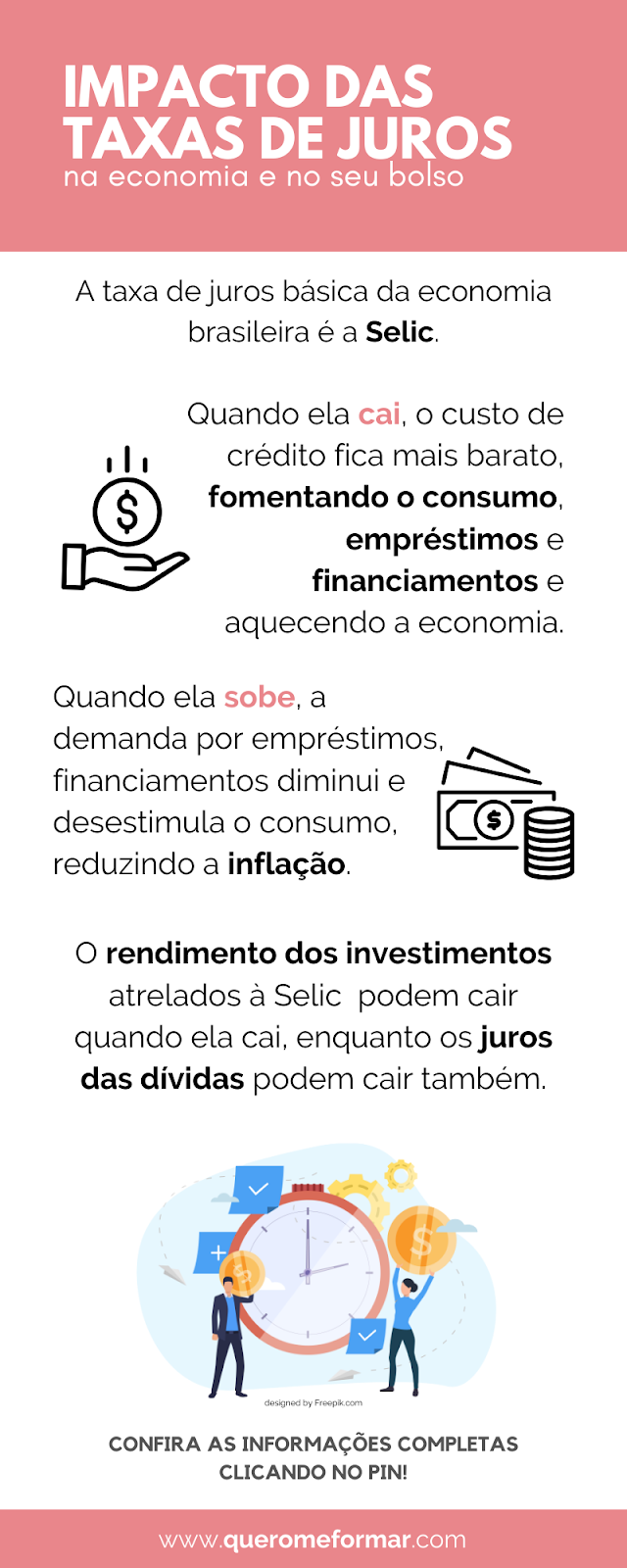 Infográfico O que São Taxas de Juros e Como Interferem na Sua Vida