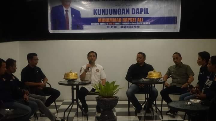 Rapsel Ali : Butuh Sinergitas Karang Taruna Dengan Pemerintah Untuk Memajukan Kepulauan Selayar