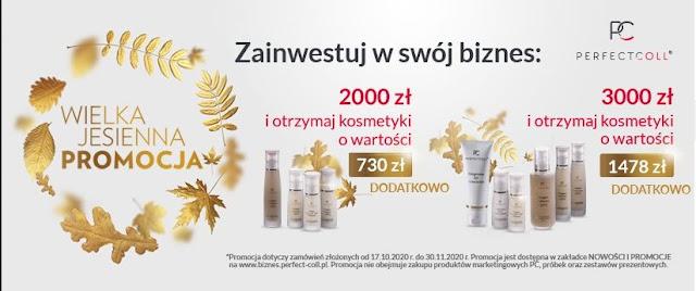 Promocja Listopadowa w Perfect Coll, czyli... SZYBKI START!