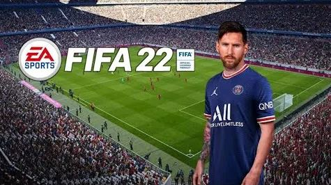 FIFA 22 Apk MESSI in PSG Android Offline PS5 New Update