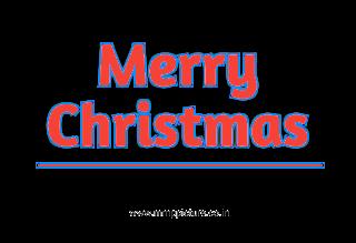 new christmas stylish text