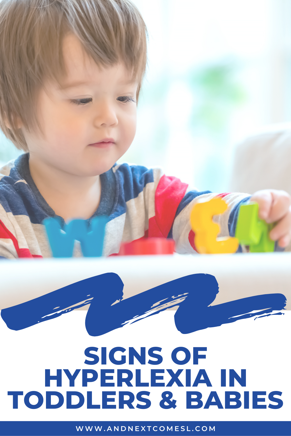 Hyperlexia in toddlers & babies: early signs you might notice