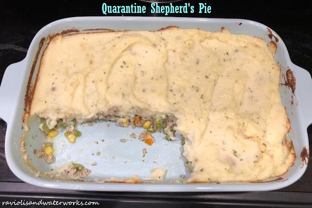 quarantine recipes; quarantine shepherd's pie;