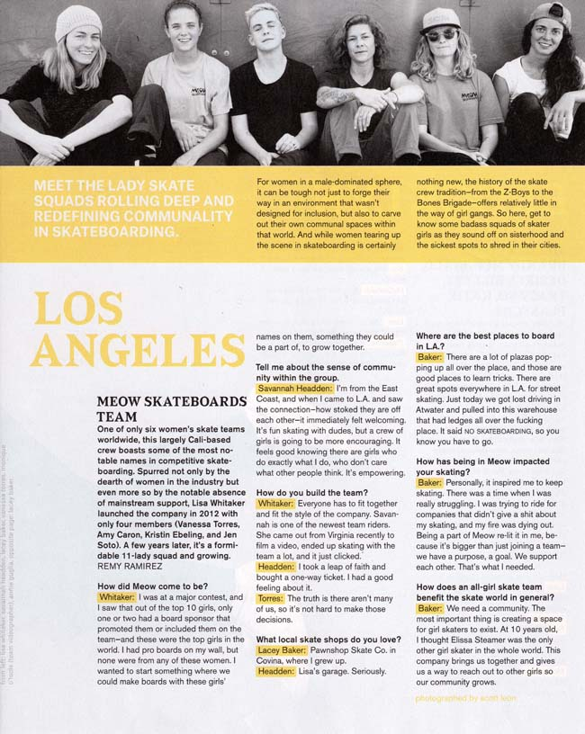 Girl is NOT a 4 Letter Word: Nylon Magazine Features 5 All Girl