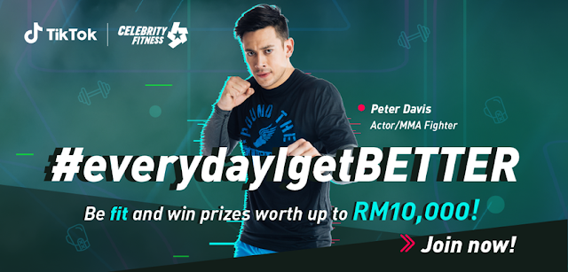 TikTok Partners with Celebrity Fitness to Launch #everydayIgetBETTER Challenge in Malaysia