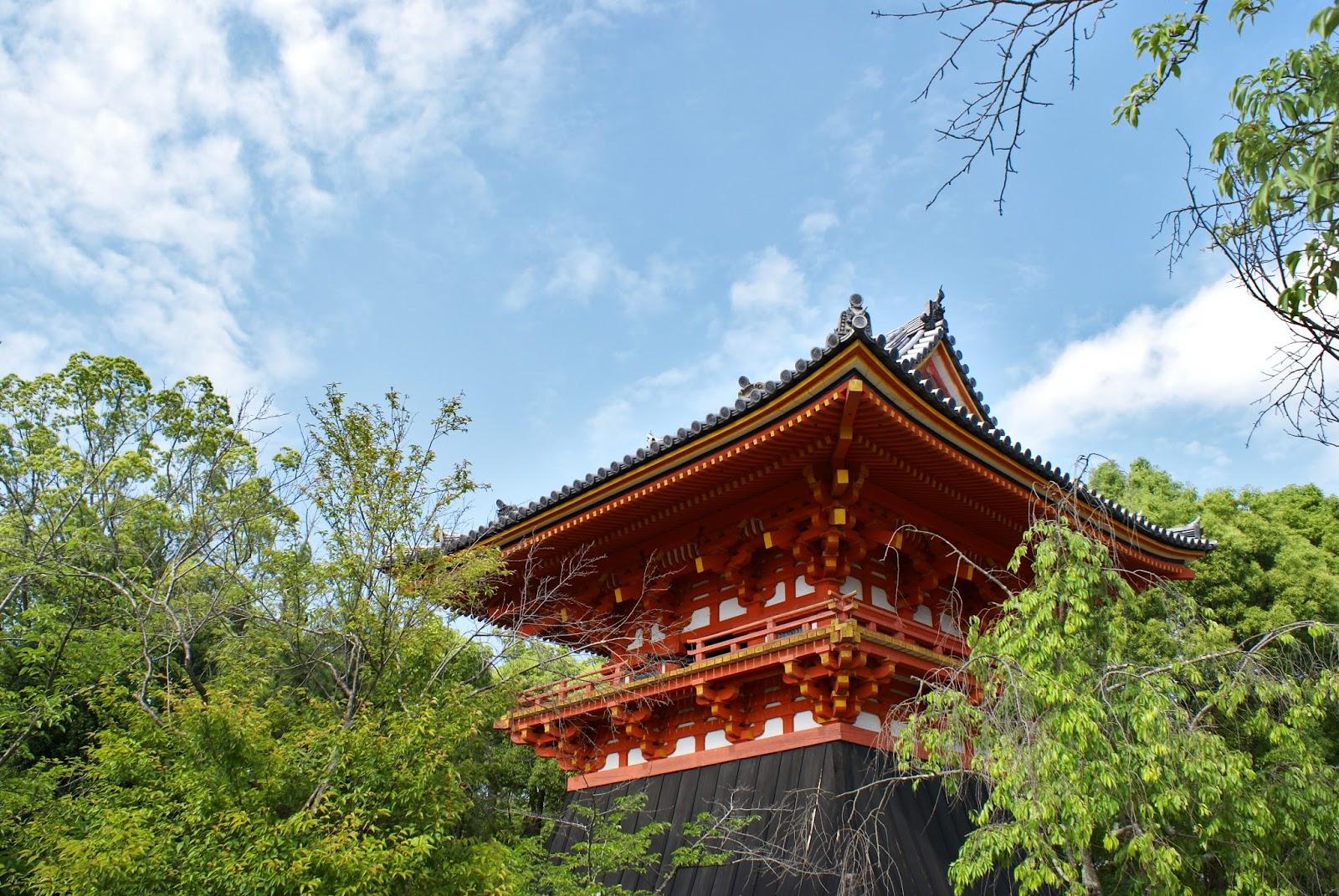ninna ji temple kyoto japan