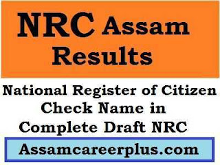 NRC Assam Results