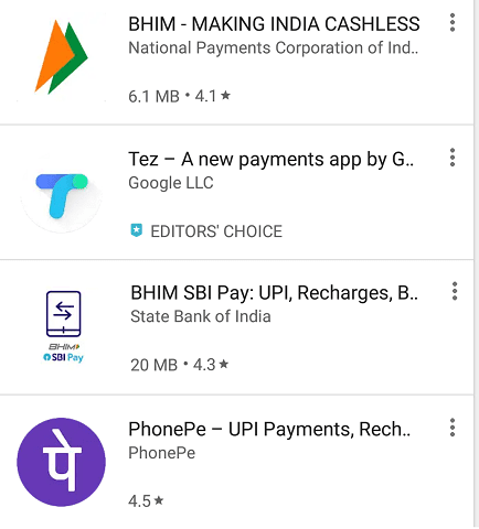 Send and receive Money using UPI Apps; Feat BHIM App