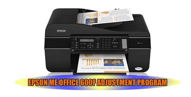 EPSON ME OFFICE 600F PRINTER ADJUSTMENT PROGRAM
