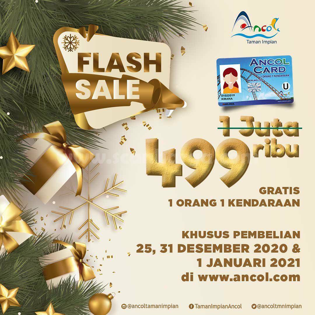 ANCOL TAMAN IMPIAN Flash Sale – Harga Spesial Annual Pass cuma Rp. 499.000