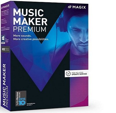 MAGIX Music Maker 2017 Premium 24.1.5.119 poster box cover