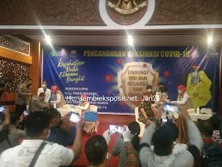 Pemerintah Provinsi Jambi Dukung dan Siap Sukseskan Vaksinasi Covid-19