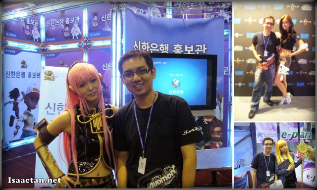 E-Stars Seoul Korea Tournament sexy ladies