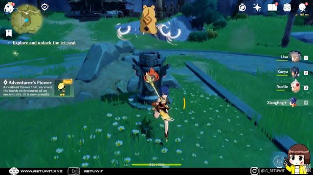 tower 1 explore dan unlock seal
