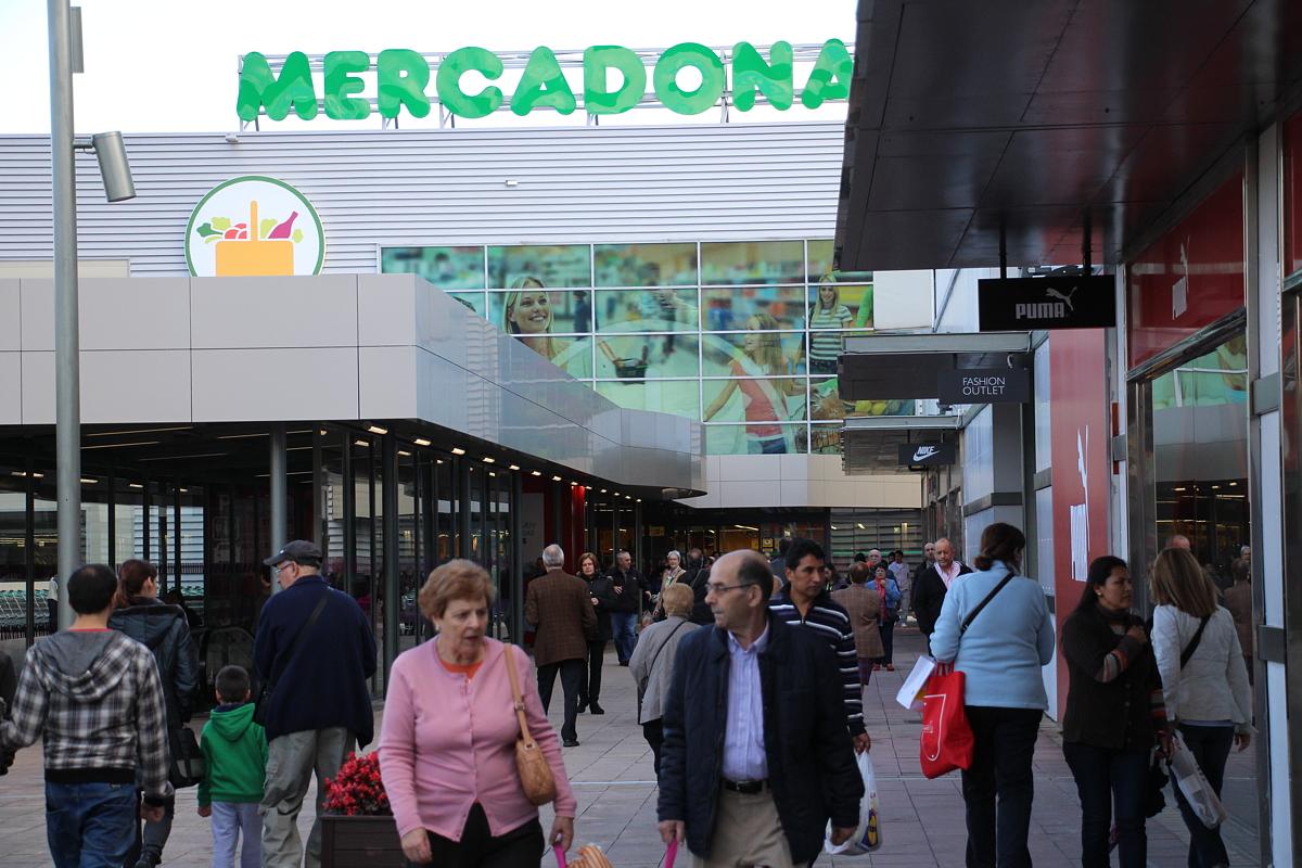Supermercado de Mercadona en Megapark
