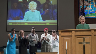 BLM Activists Split As Hillary Clinton Makes Push For Black Millennials