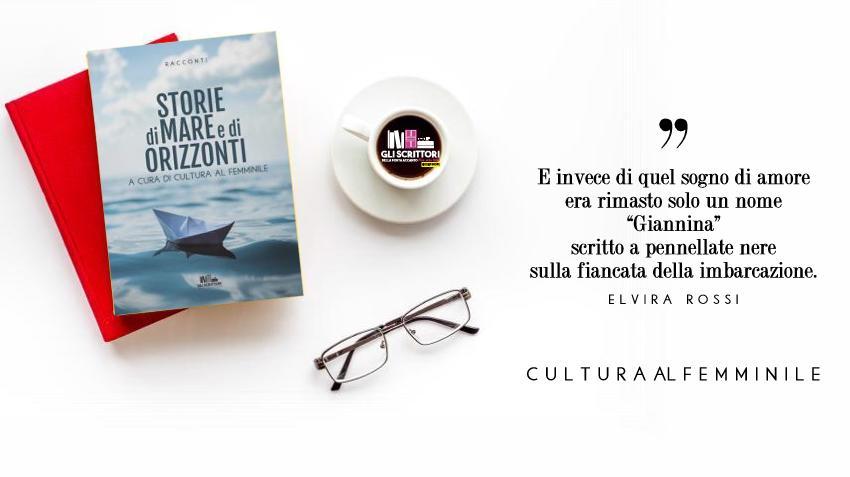 Storie di mare e di orizzonti, l'antologia di Cultura al Femminile che aiuta l'AIL
