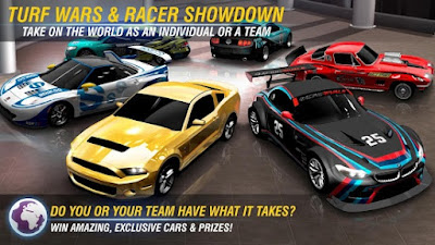 Racing Rivals Mod APK Unlimited Turbo